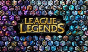 League of Legends game logo representing the different sectors and worlds that students imaginations can take them.