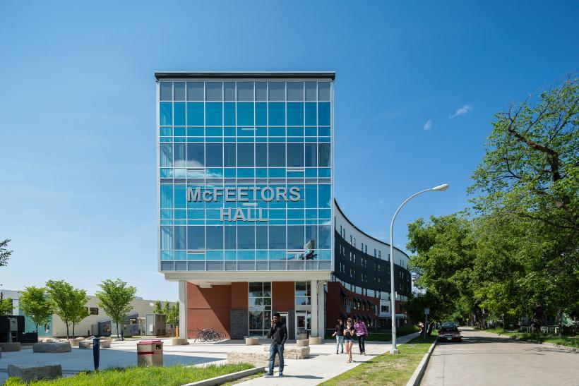Top Residences at the University of Winnipeg