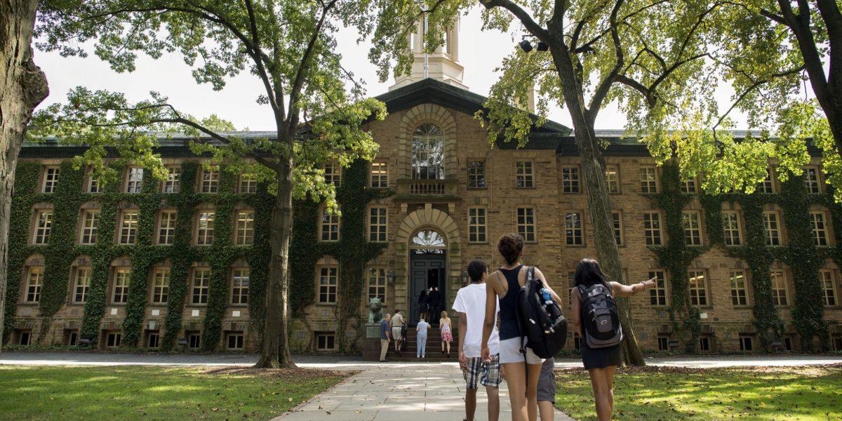 Students at Princeton University