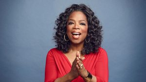 Picture of the talents, multi-platform Oprah Winfrey.