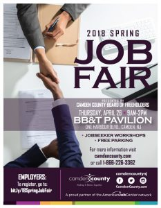 Ad from the spring job fair