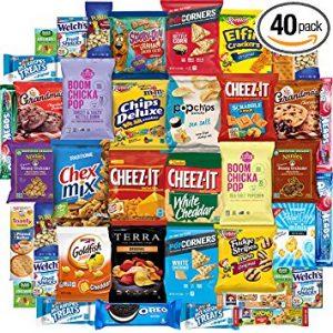 Bunch of snacks