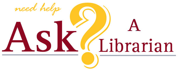 the ask a librarian logo