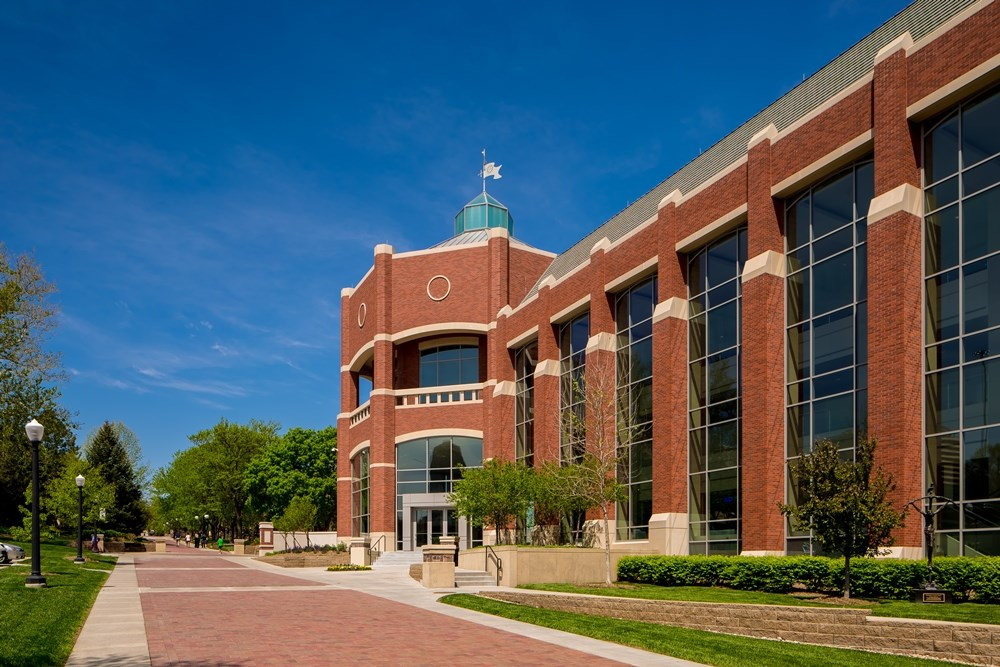 Harper Center at Creighton University.