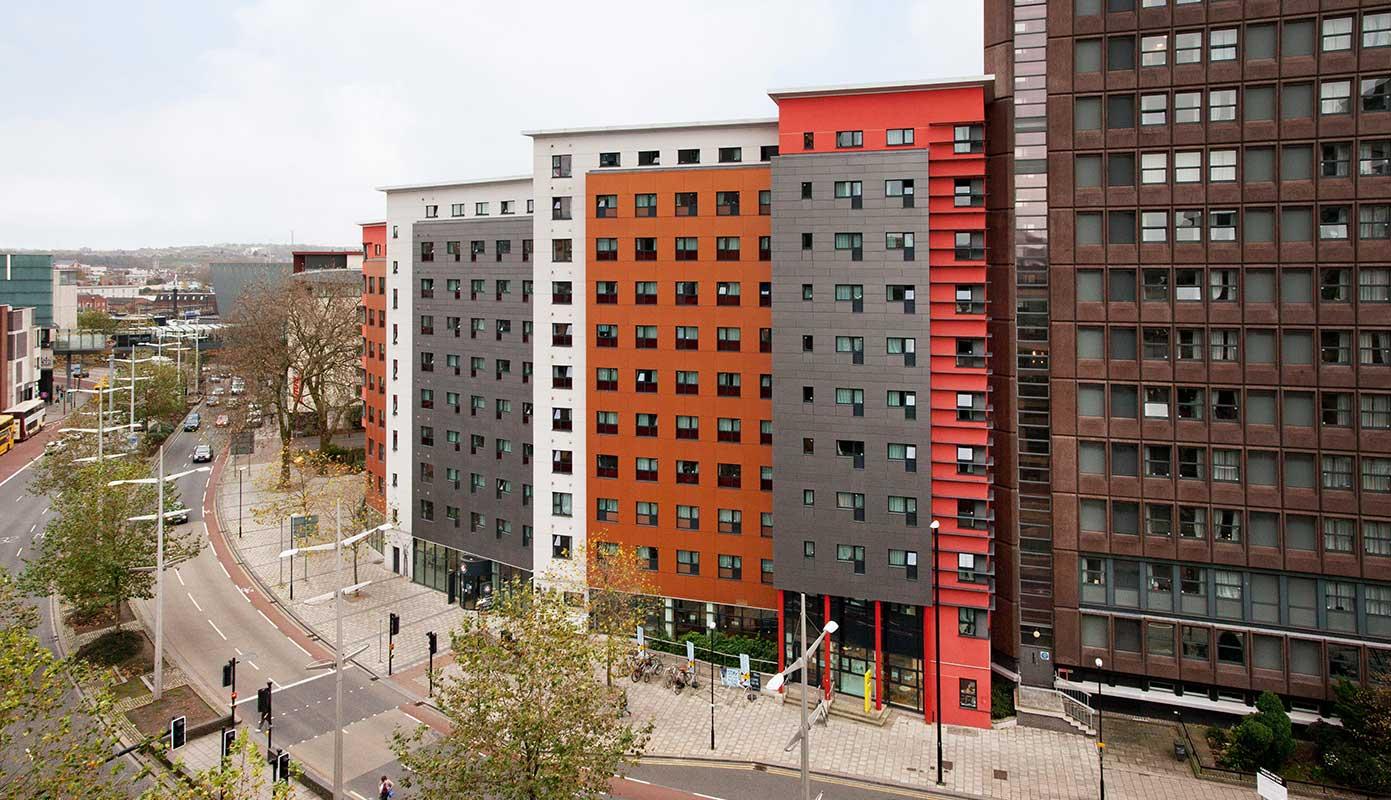 Halls of Residence A-B blocks
