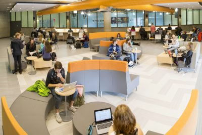 Open study spaces for students