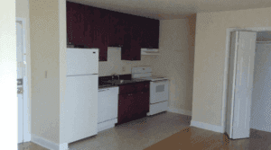 This is an apartment here