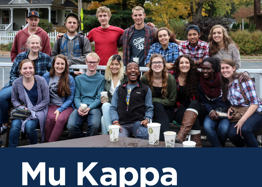 student group photo from Mu Kappa
