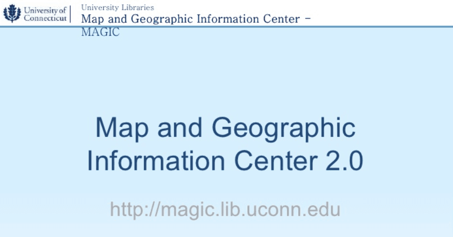 presentation on MAGIC at UCONN