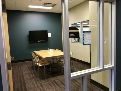 Small study space for students