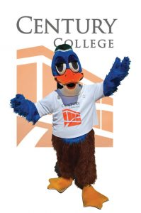 Woody Wood Duck the Campus Mascot