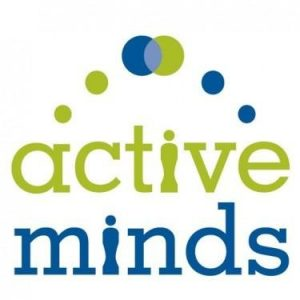 This is the logo for this active club.  It includes two circles coming together to show that no-one is ever alone when it comes to mental health.