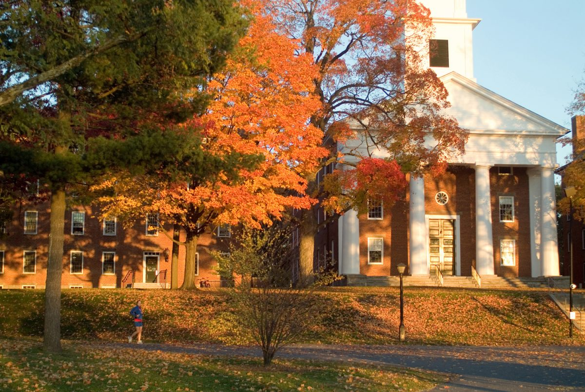Fall at Amherst College