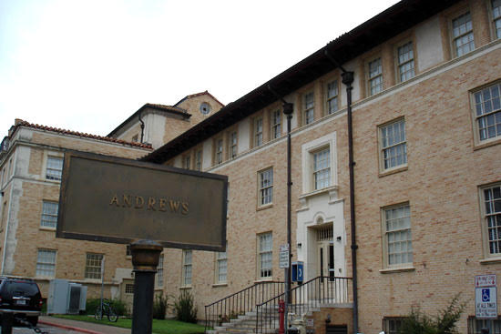 Andrews Hall at University of Texas at Austin