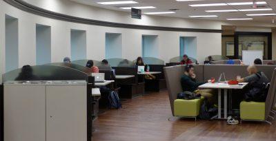 Allyn & Betty Taylor study zone