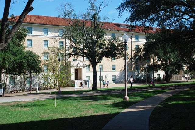 Blanton Hall at University of Texas at Austin