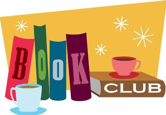 book club featuring coffee and books
