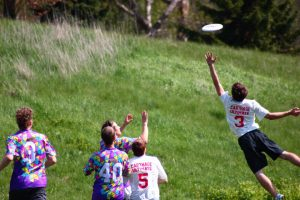 Carthage Ultimate Frisbee Players