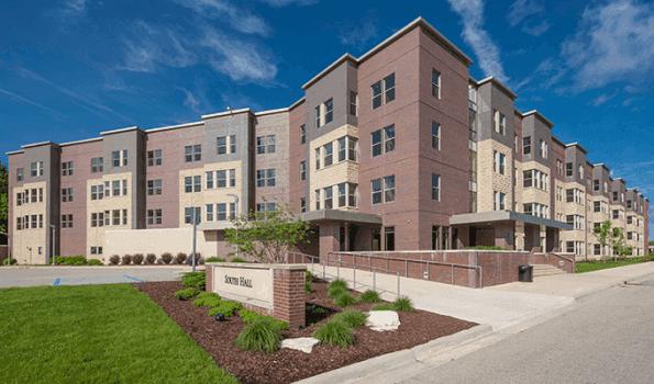 Dorms at Davenport university