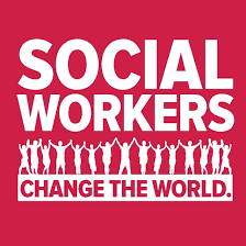 This image shows what this council truly believes, that social workers can change the world.