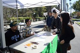 This image shows the RCC Photo Club promoting their organization to other students.