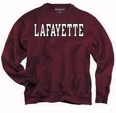 Lafayette College sweatshirt