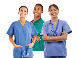 This image shows a variety of nurses!