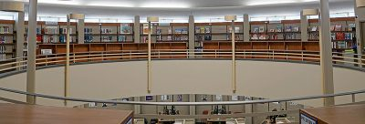 Education mezzanine of the Education Library