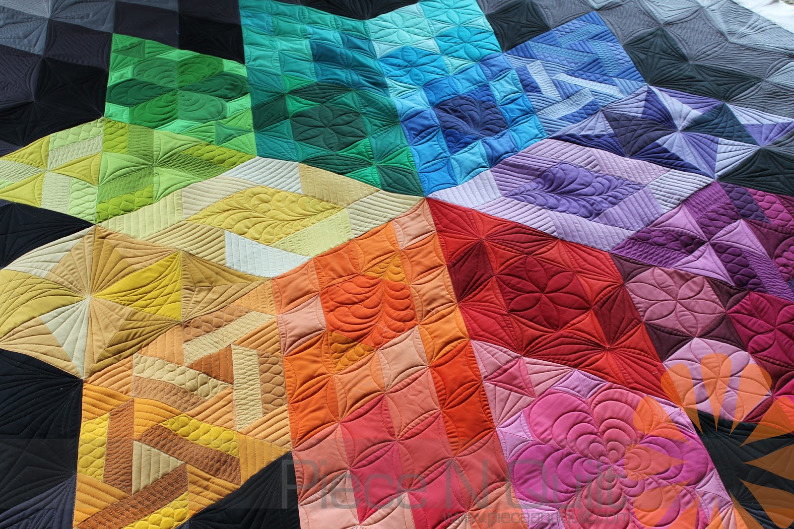 An example of a quilt you could create in the quilting club
