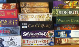 Picture of possible board games you could play!