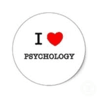 Showing a love for psychology.