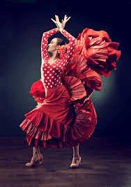 Beautiful flamenco dancer.