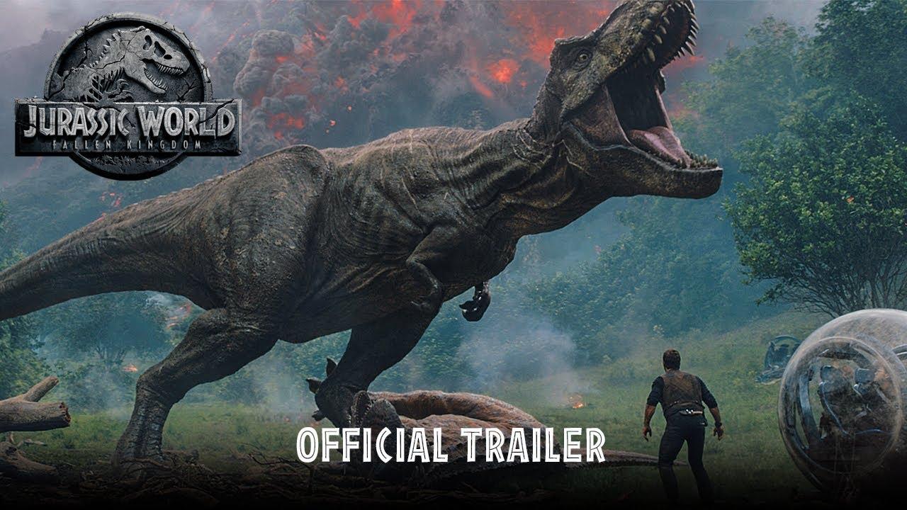 trailer for jurassic world, fallen kingdom