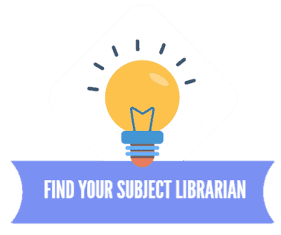 Ask a subject librarian graphic logo