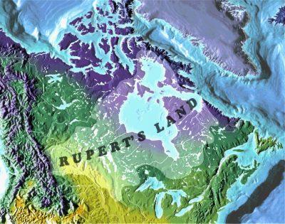 Rupert's Land map