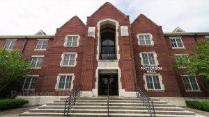 Patterson Hall building at JSU