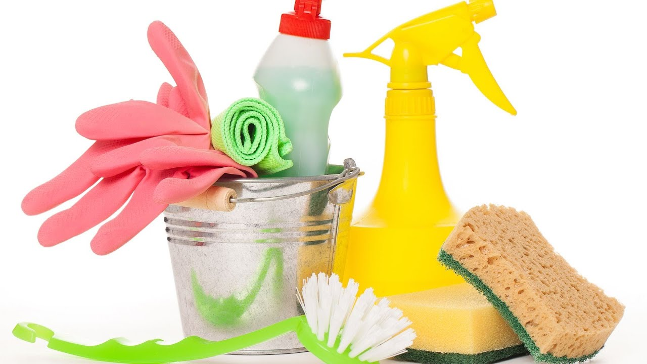 an image of cleaning supplies