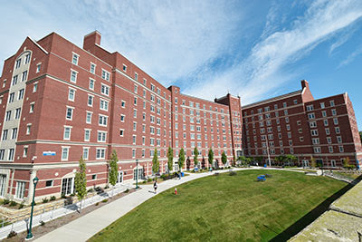 Mid Campus Residence Hall at Central Connecticut State University