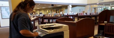 Mobile printing at the library