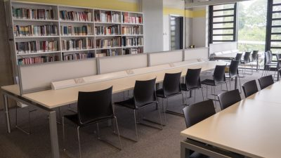 Open study spaces