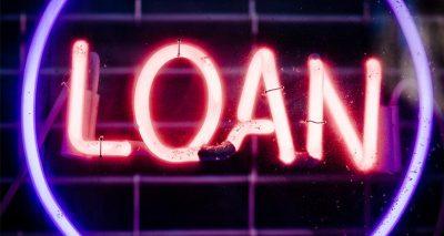 Loan neon sign