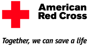 the logo and motto for the American Red Cross