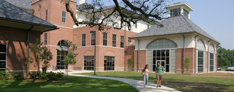 The main building at South Louisiana Community College