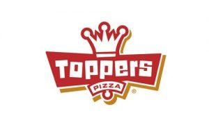 logo for Toppers Pizza restaurant