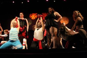 Annual Drag Show hosted by the Triangle Alliance Club
