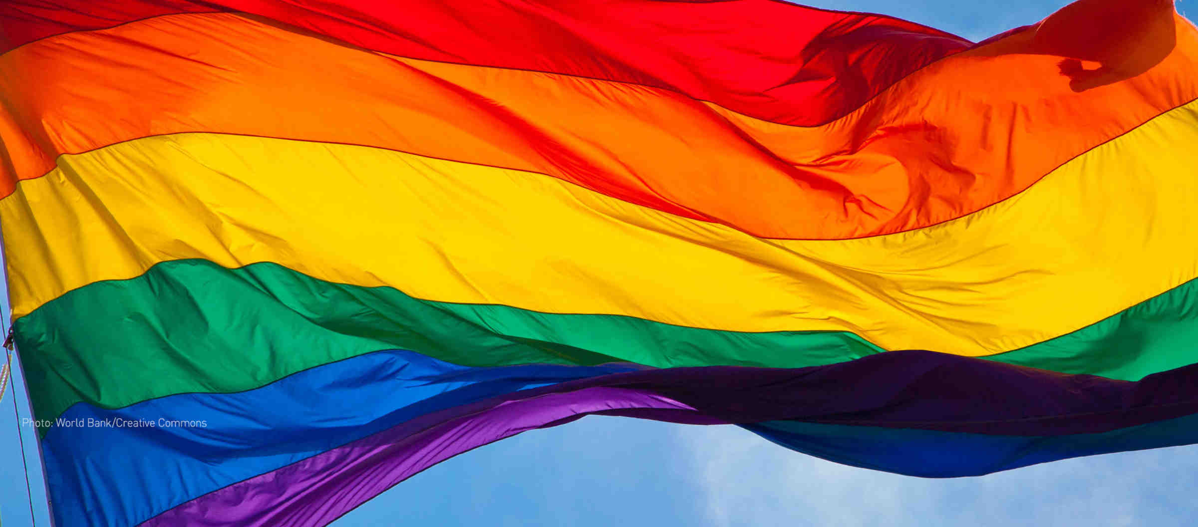 This flag is a symbol of LBGT pride and empowerment!