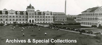 Archives & Special Collections University of Manitoba