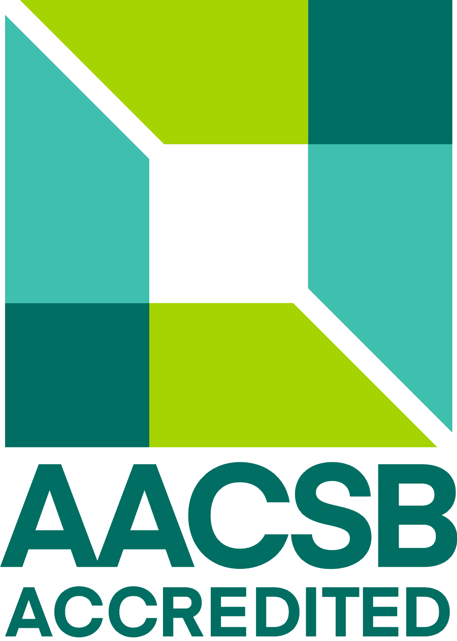AACSB Accreditation Logo- Cleveland State University