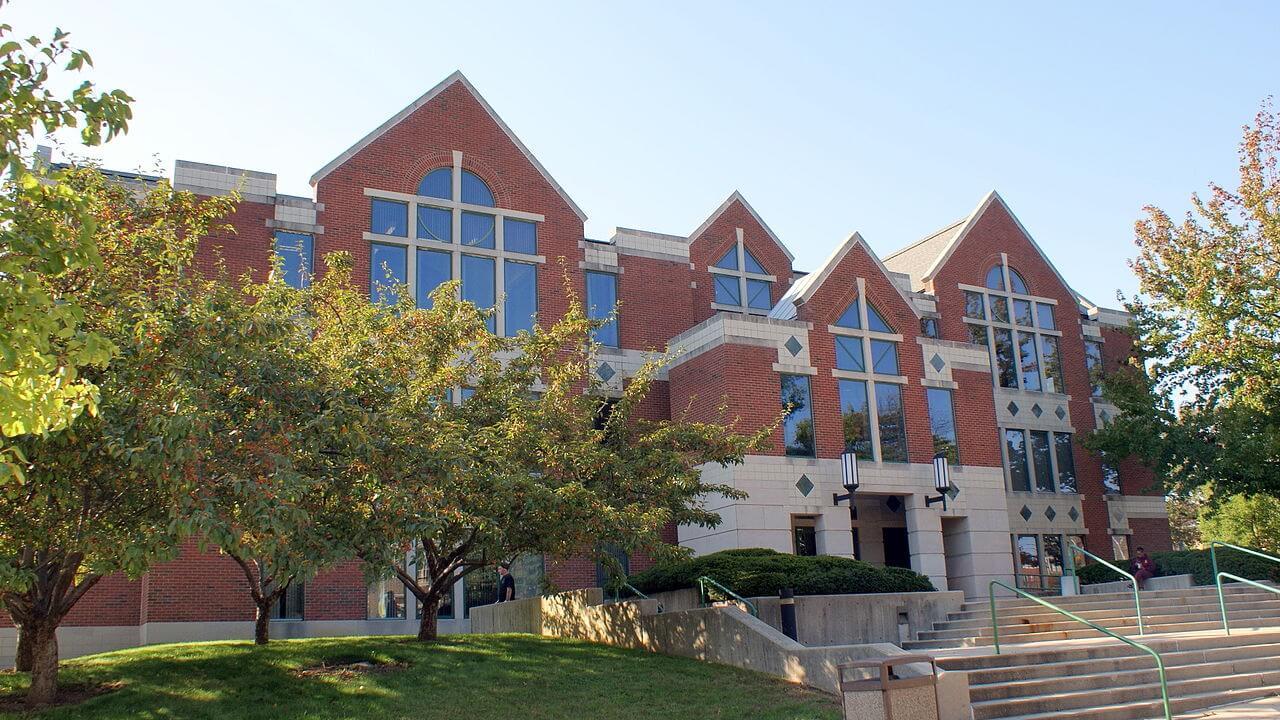 The building at La Salle University
