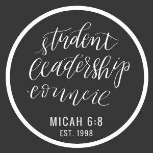 The logo for the Student Leadership Council